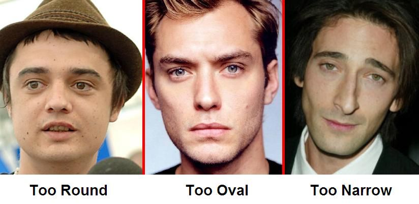 Three Great Examples Of Round, Oval, And Narrow Jaw Lines-8054