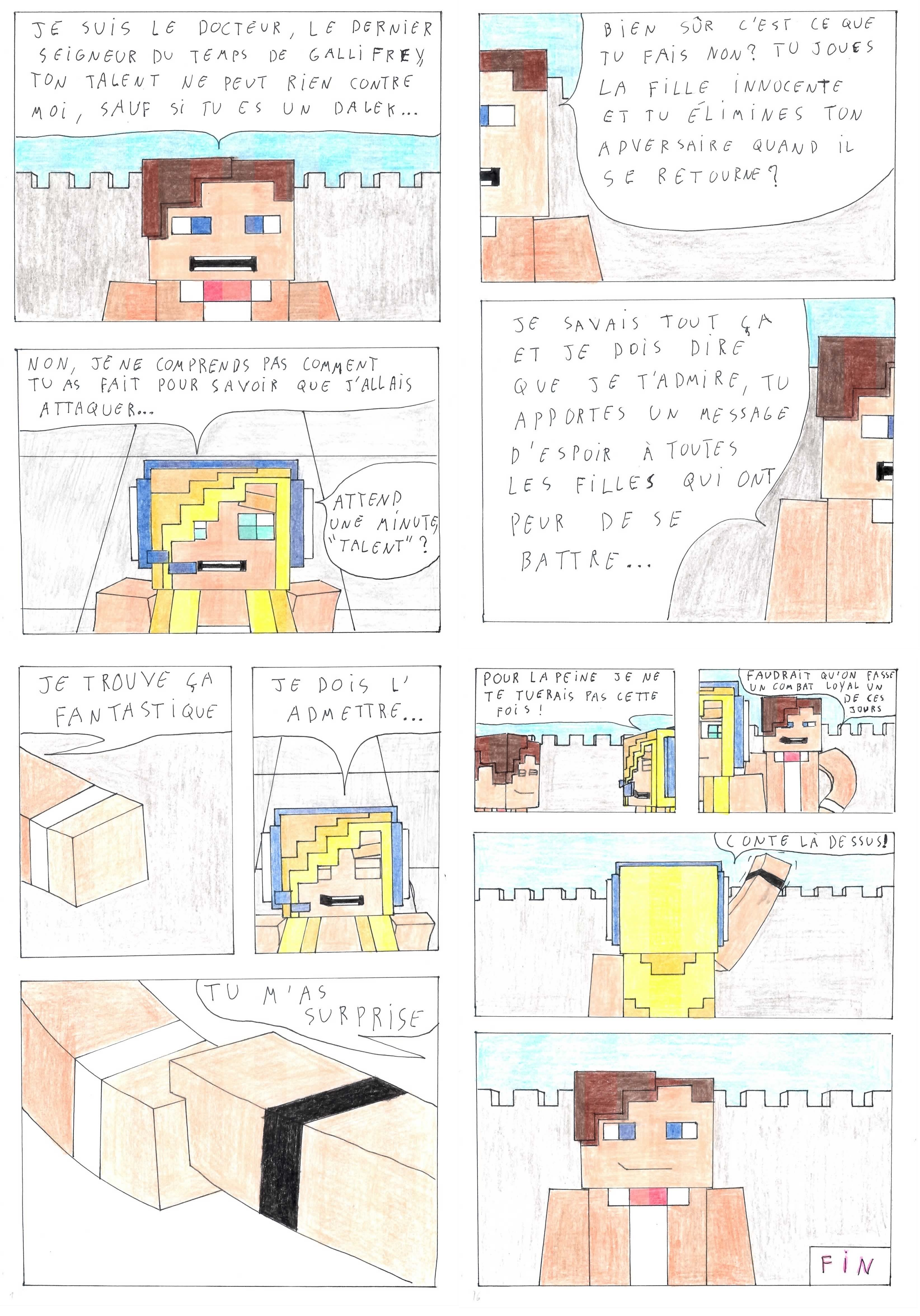 10-10) Rencontre part10 [10-10-10]  Psycho girl, Minecraft games