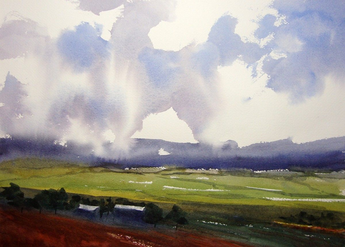 Watercolor artists websites - Watercolor Artists Websites Storm Chasers Sold