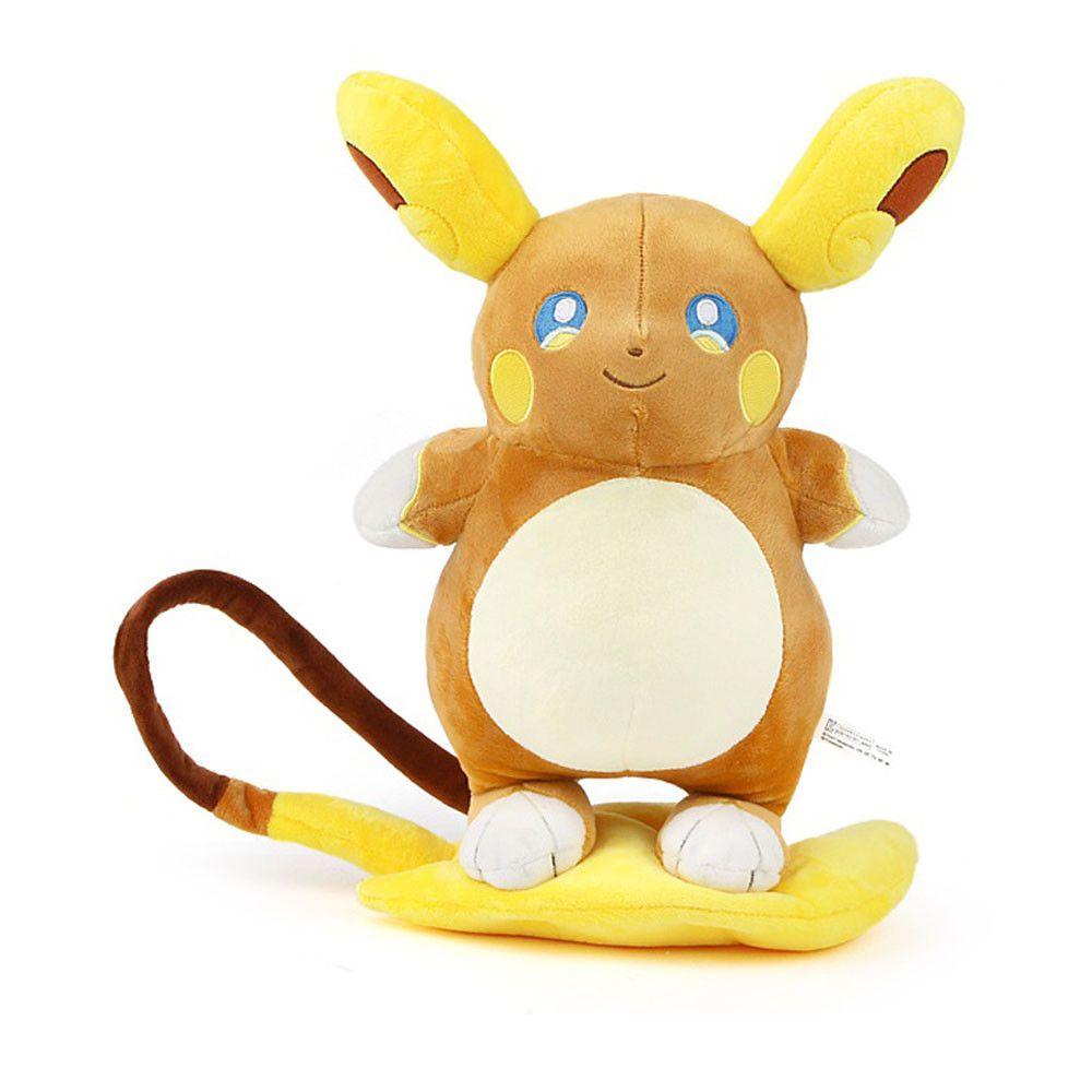 Alola Raichu 30cm 12inch Game Anime Stuffed Animal Plush Soft Toy Doll