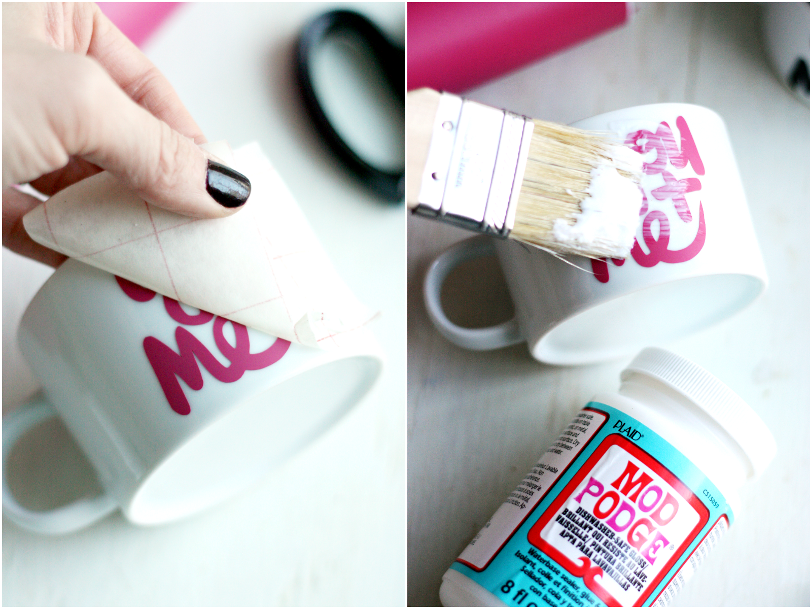 Diy loveyou mugs perfect for a valentine 39 s day gift for Diy gift projects