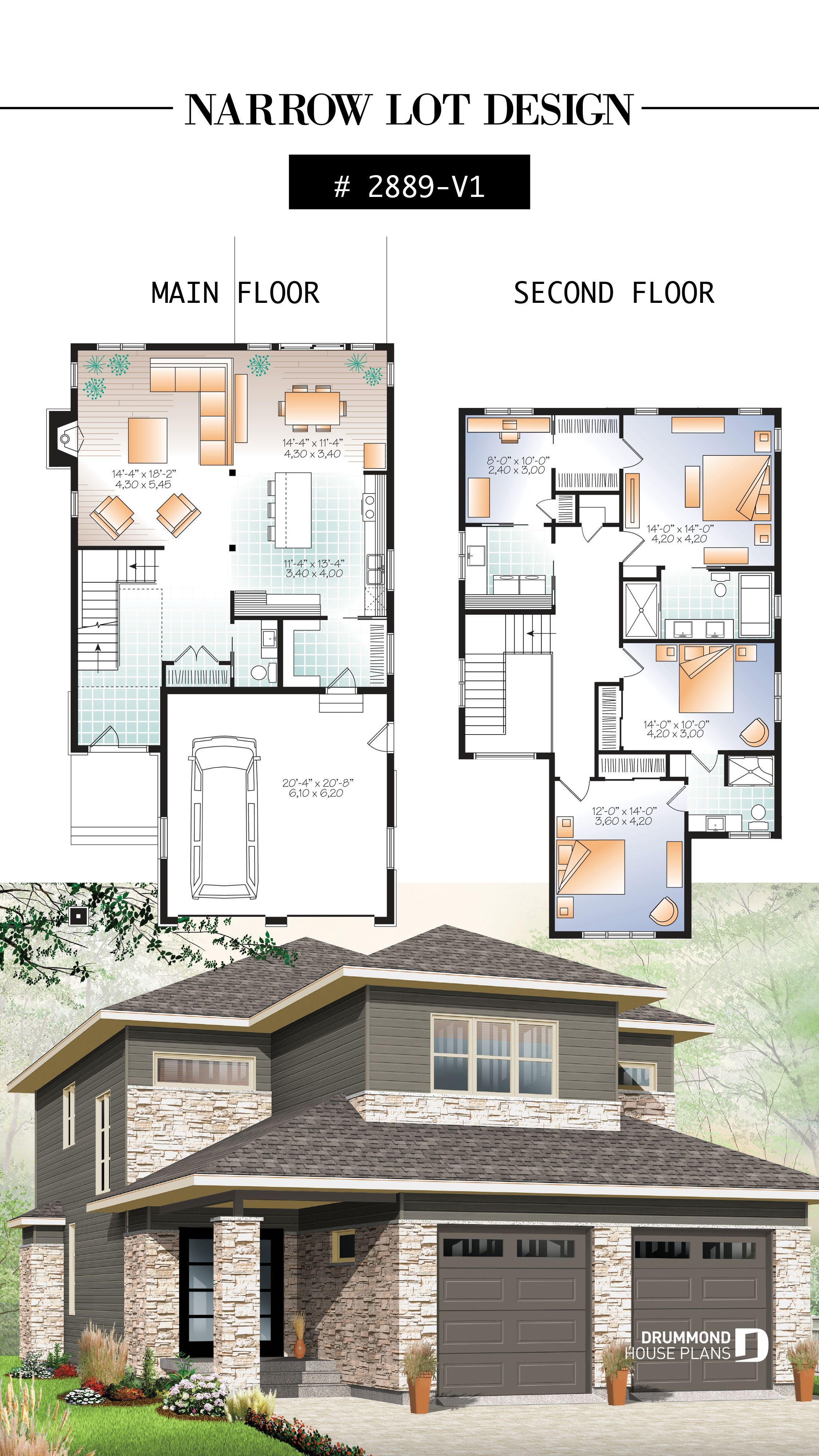 4 Bedroom Modern Home Design Nursery Off The Master Bedroom Open Floor Plan Large Pantry Modern Floor Plans Sims House Plans House Layouts