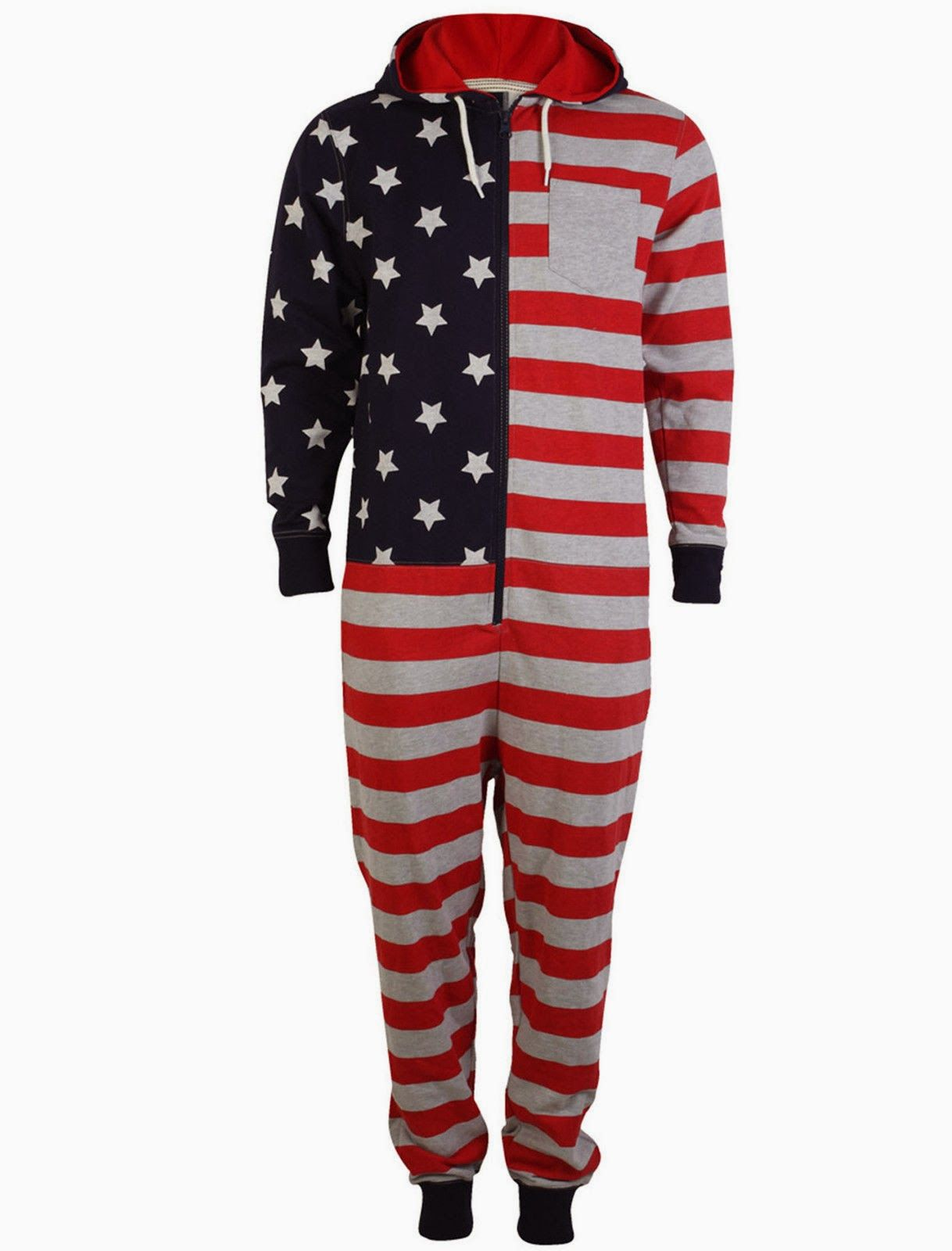48b168e32ee9 Onesie pajama for Team USA and Olympics fans. love it
