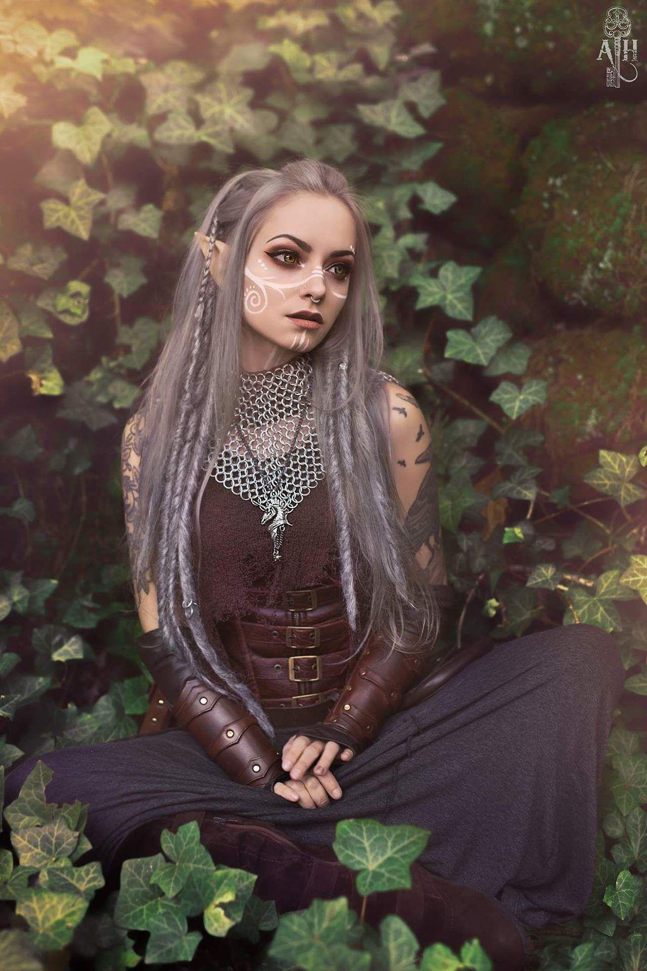 2211fc4287711b Image result for festival elf cosplay makeup | Zdjęcia w 2019 ...