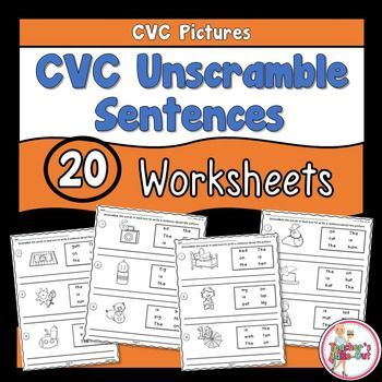 Related Facts Worksheets Excel Cvc Unscramble Sentences Worksheets  Complete Sentences  Phonemes Worksheets Word with Common Core Grade 3 Math Worksheets Excel Cvc Unscramble Sentences Worksheets Palmer Handwriting Worksheets Excel