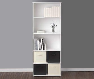 i found a ameriwood system build white cube organizers at big lots rh pinterest com big - Big Lots Bookshelves