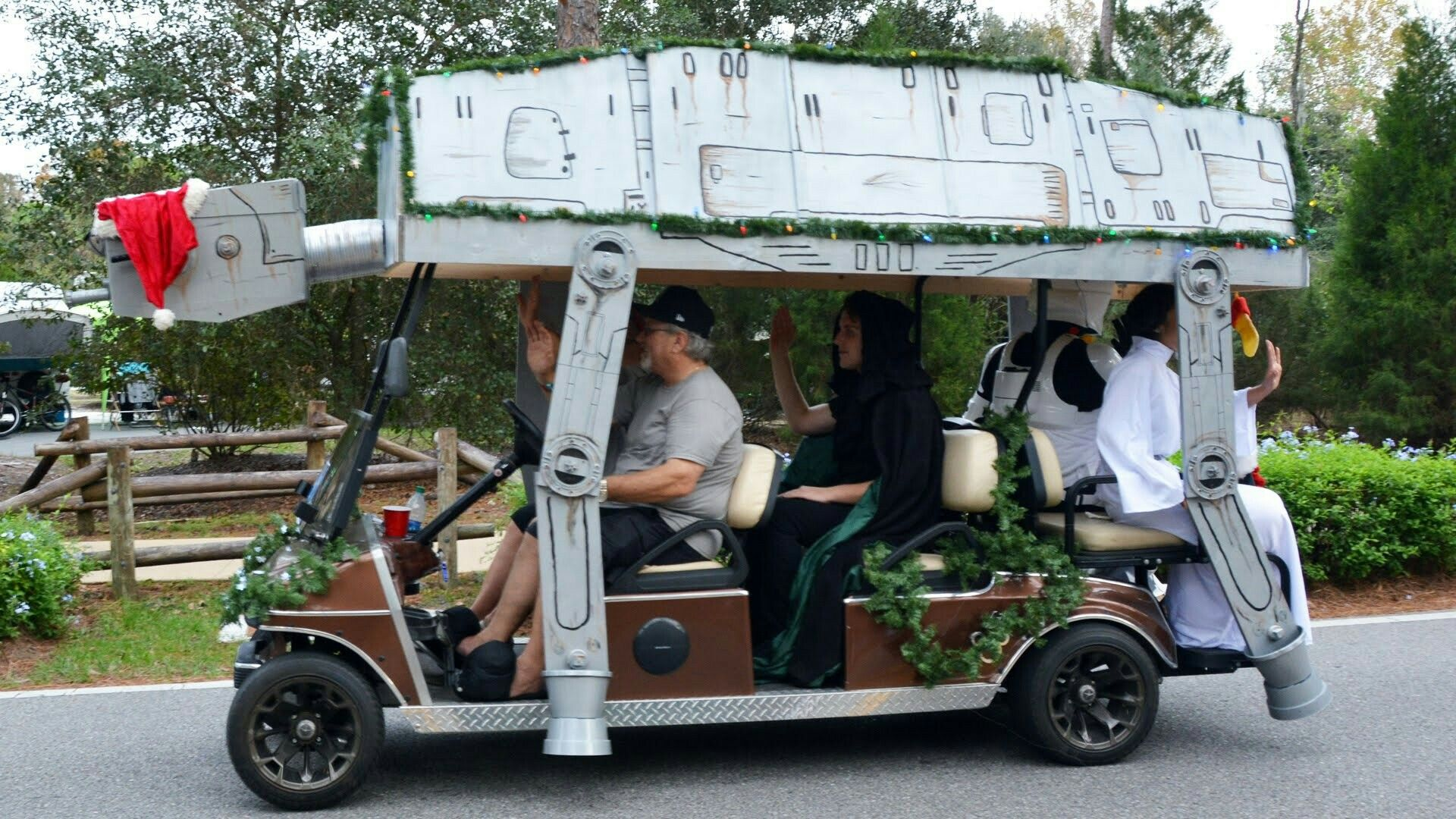 Golf Cart Float Space Shuttle  Google Search - Homecoming