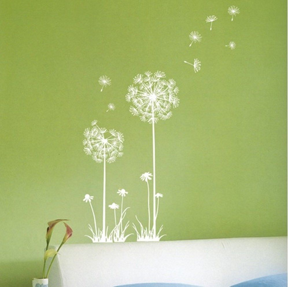 DANDELION SPORE Wall Art Decor Point Sticker Vinyl Art Home/Room ...