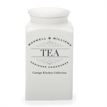 Food Storage Containers - Briscoes - Maxwell & Williams Tea Canister ...