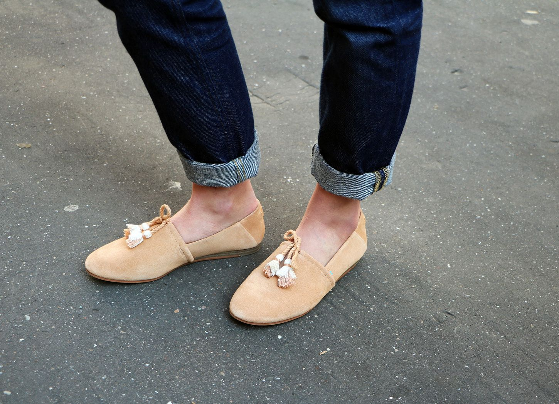 Honey Suede Women's Kelli Flats | TOMS