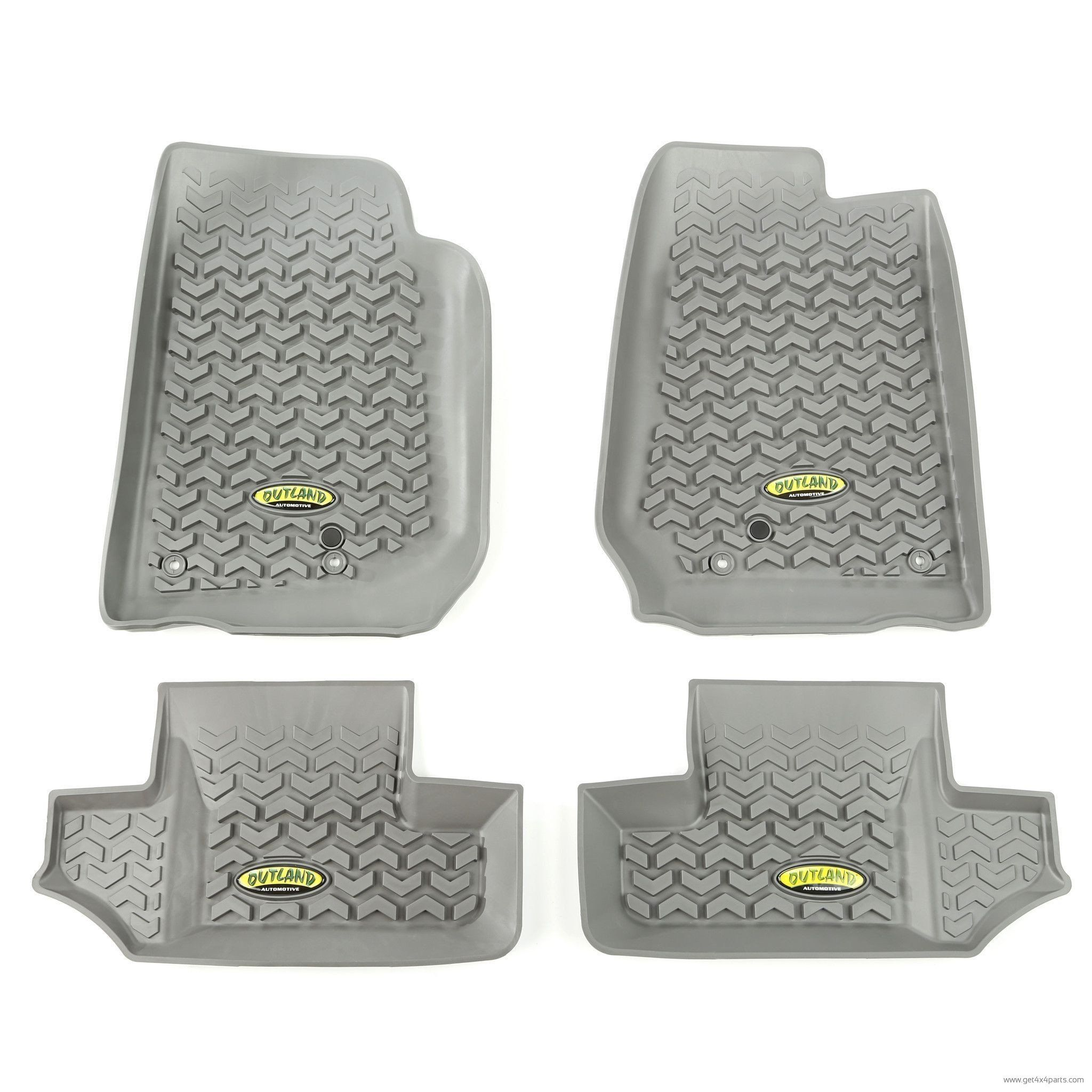 maxpider classic close up floor liners mat gray