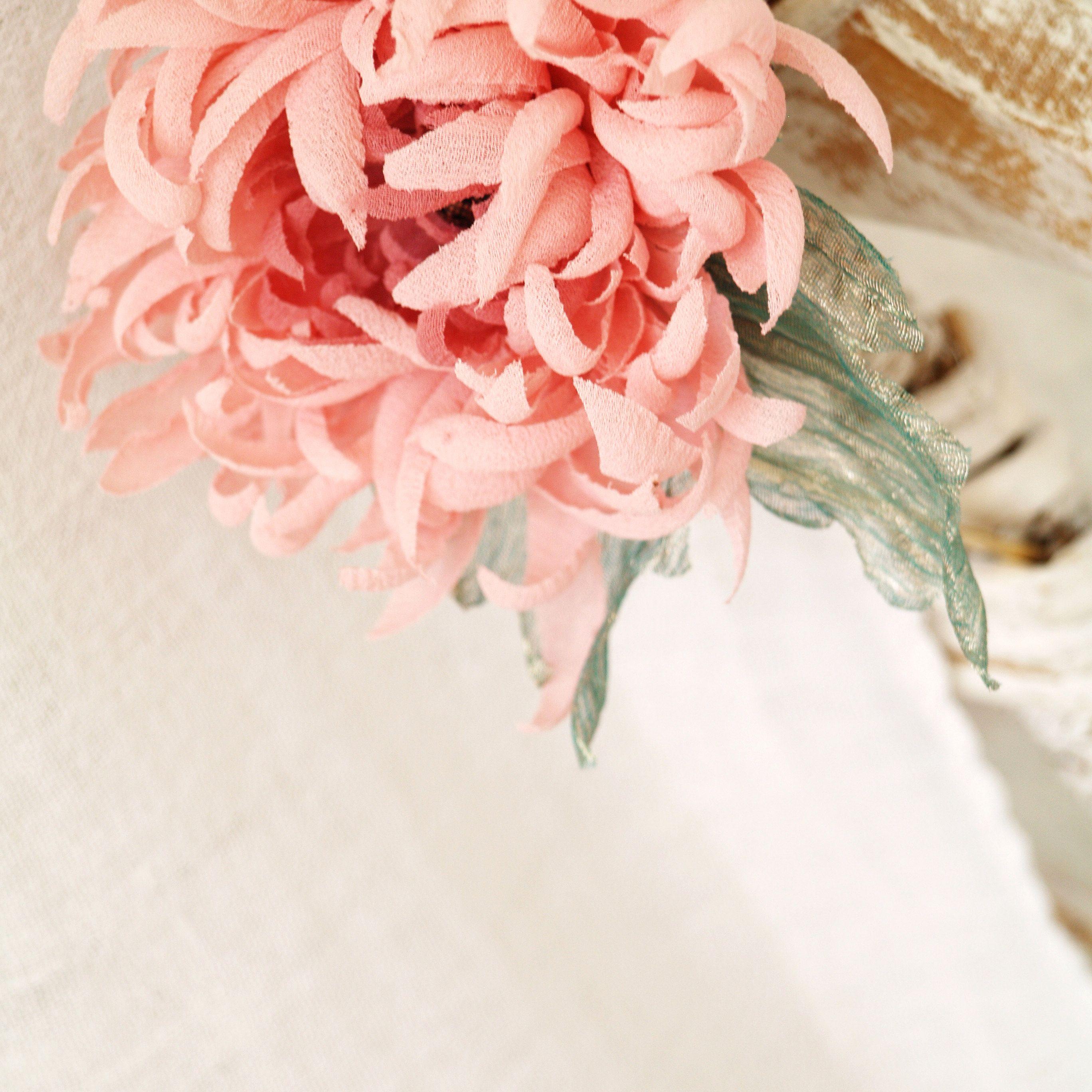 I M Offering A Discount Flower Fascinator Pink Flower Headband Flower Art