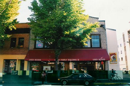 Smith Family Bookstore. Downtown Eugene.