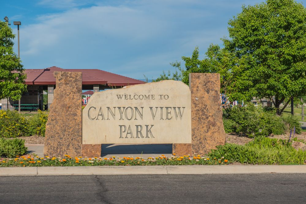 Canyon View Park, the biggest park in Grand Junction   Grand junction,  Grand valley, Whitewater