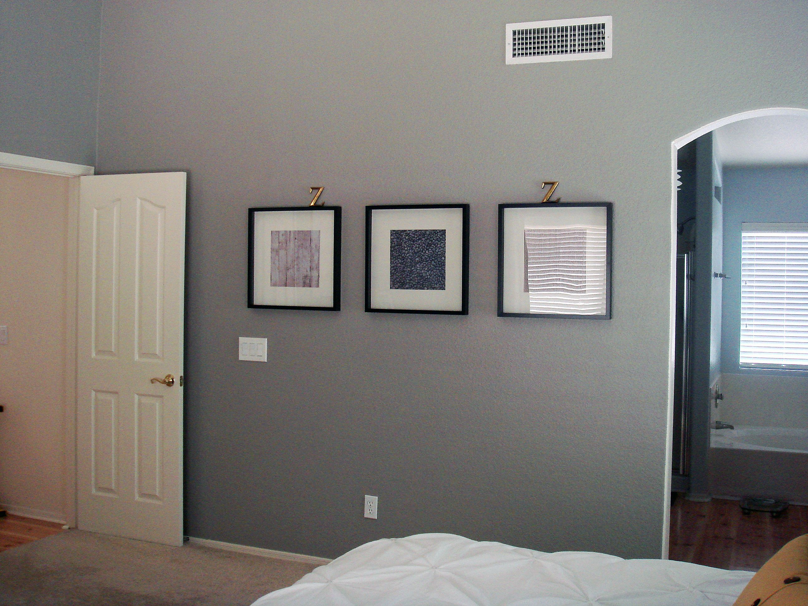 Glidden wood smoke living on lexington in 2019 bedroom - Master bedroom and bathroom paint colors ...