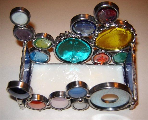 Stain Glass Business Card Holder Google Search