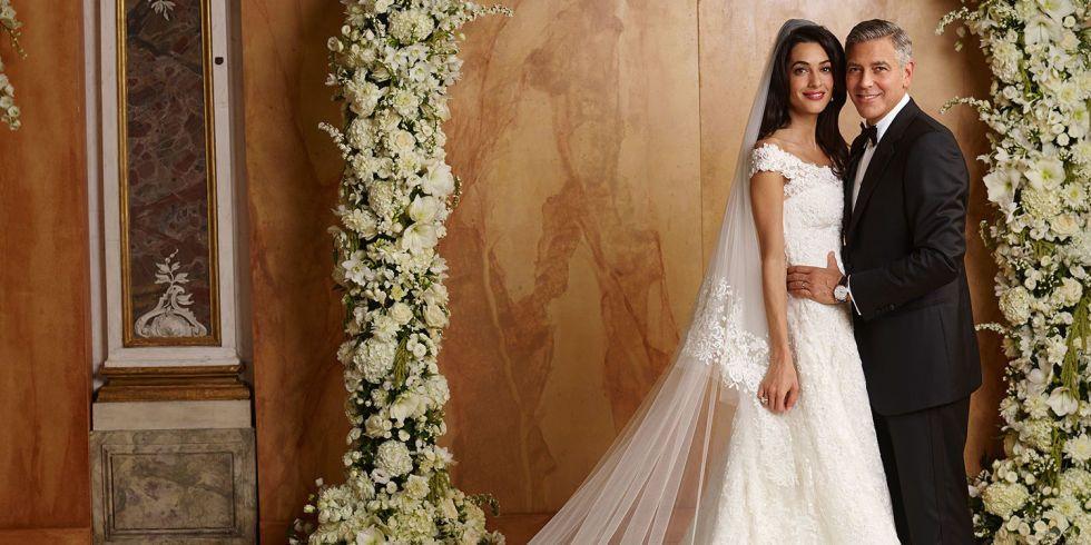 Картинки по запросу George Clooney and Amal Alamuddin wedding