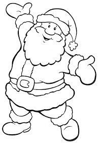 Pin De Isabel Sánchez En Christmas Papa Noel Para Pintar Dibujo Navidad Para Colorear Papa Noel Dibujo