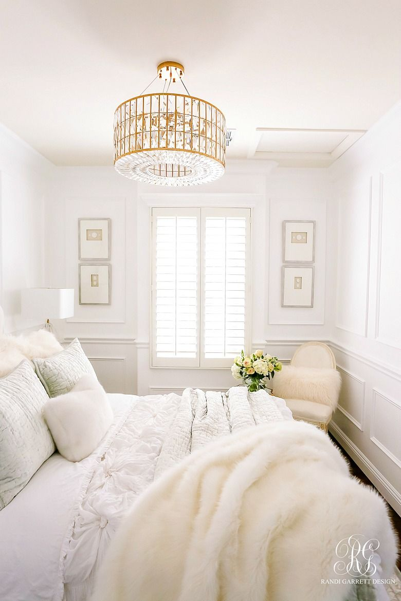Glam Guest Bedroom Makeover images