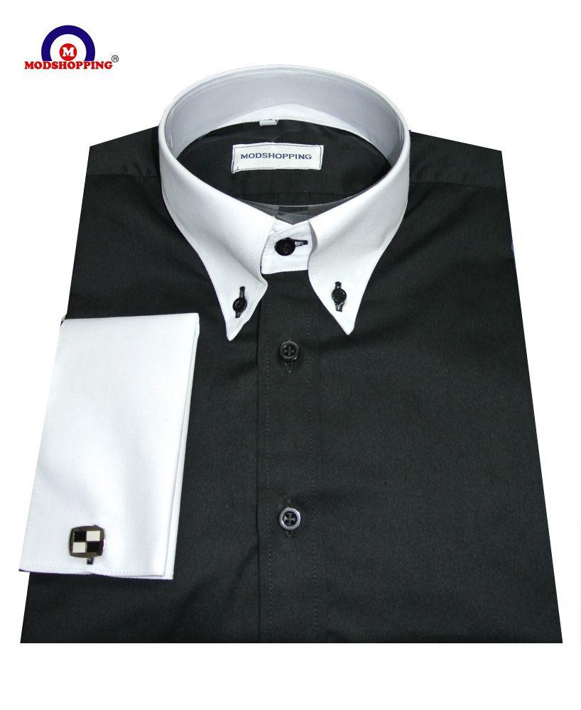 Modshopping White Collar Black Mod Shirt 45 00 Http Www Modshopping Com White Collar Black Mod Shirt Shirts Black Button Down Shirt Mens Shirts [ 1000 x 818 Pixel ]