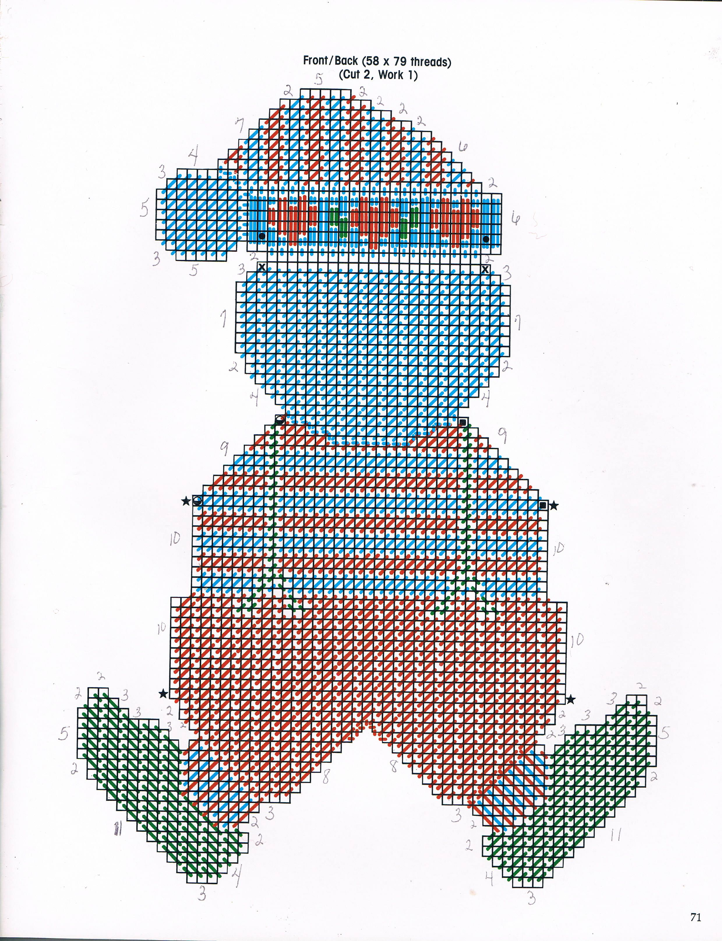 Candy Cane Santa 2 3