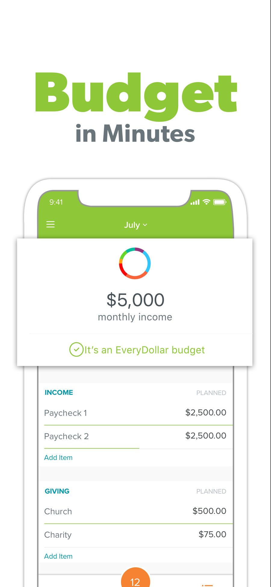 ‎EveryDollar Easy Budgeting App on the App Store
