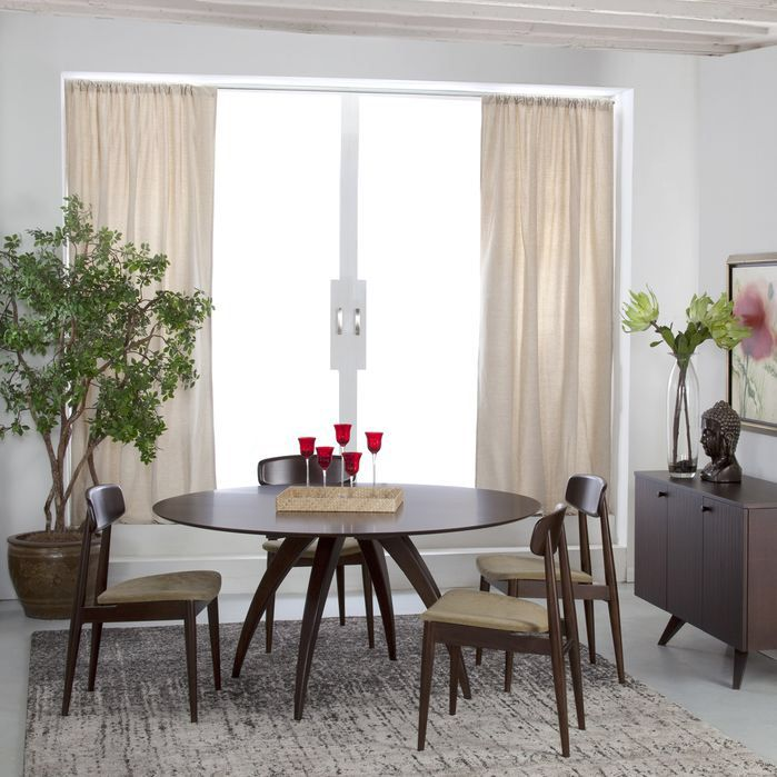 Ella Dining Table Modern dining rectangle Pinterest