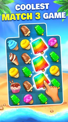 Ice Cream Paradise Match 3 Puzzle Adventure 2.5.6 APK