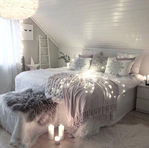 Photo of Ist es kalt genug für dieses gemütliche Schlafzimmer? Verschönern Sie einen k…