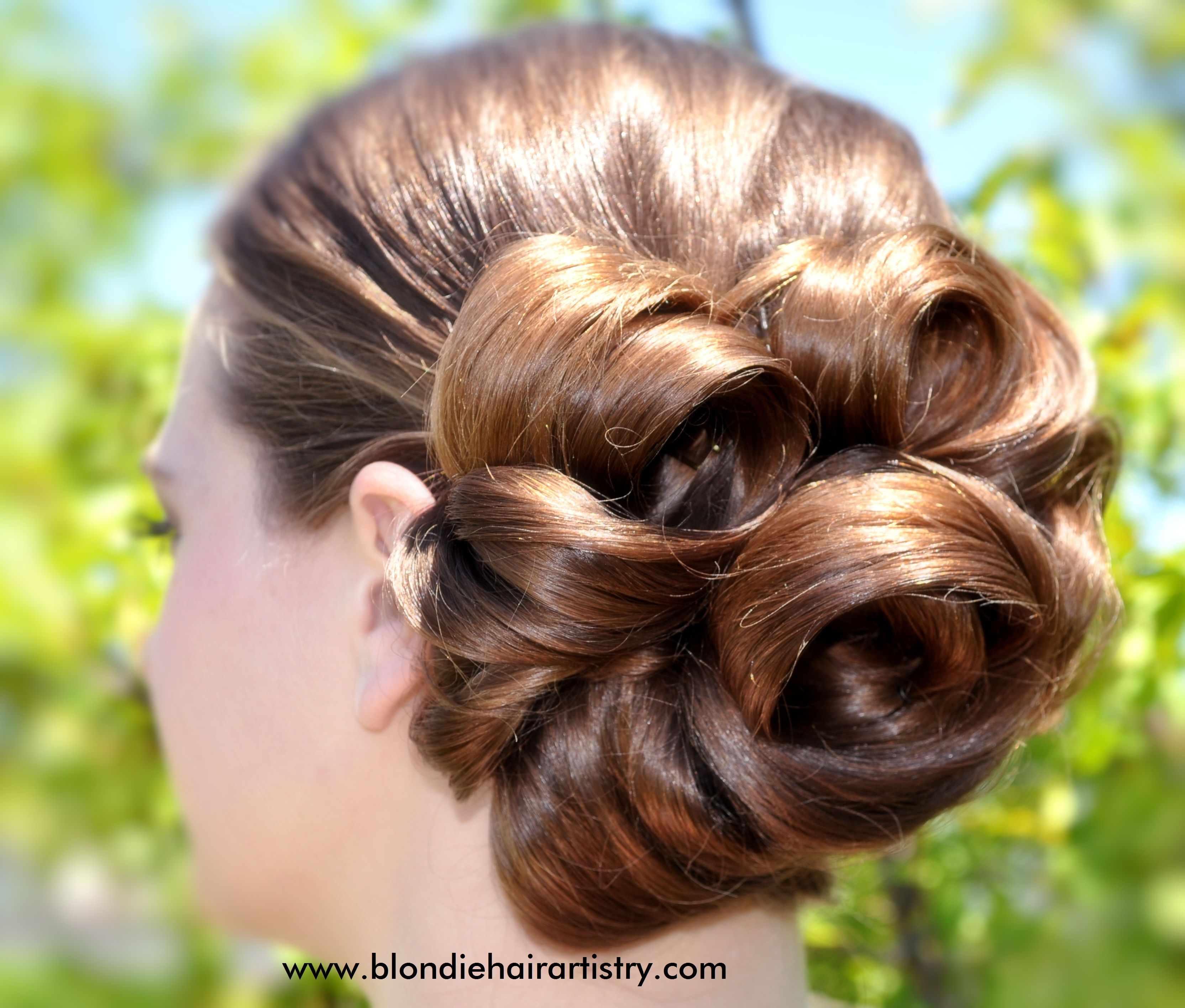 up hair styles for prom vintage chic rock paper scissors hair do spa hair 3049 | cd71204279df7a5061a3049c01111315