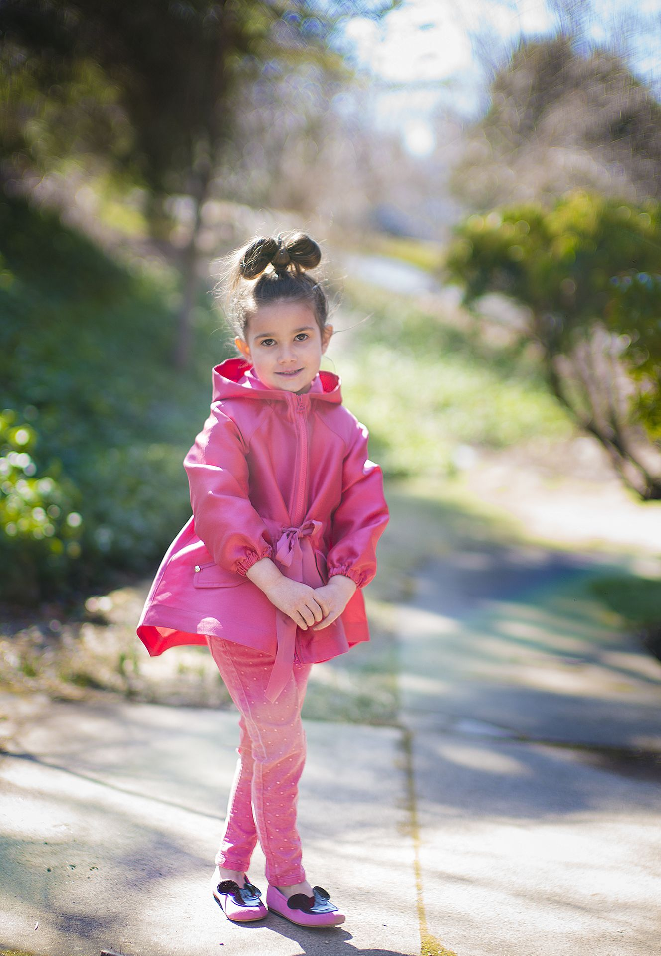 7ac76ebdb Pinkaliciously fashionable Mi Mi Sol satin parka coat - together ...