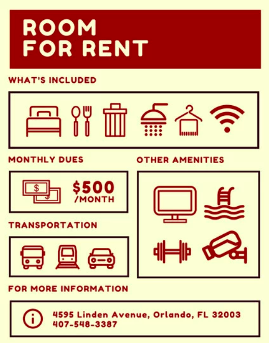 4 Essential Tips For Renting Out Your Spare Room Dolly Blog Rooms For Rent Flyer Template Rental Apartments