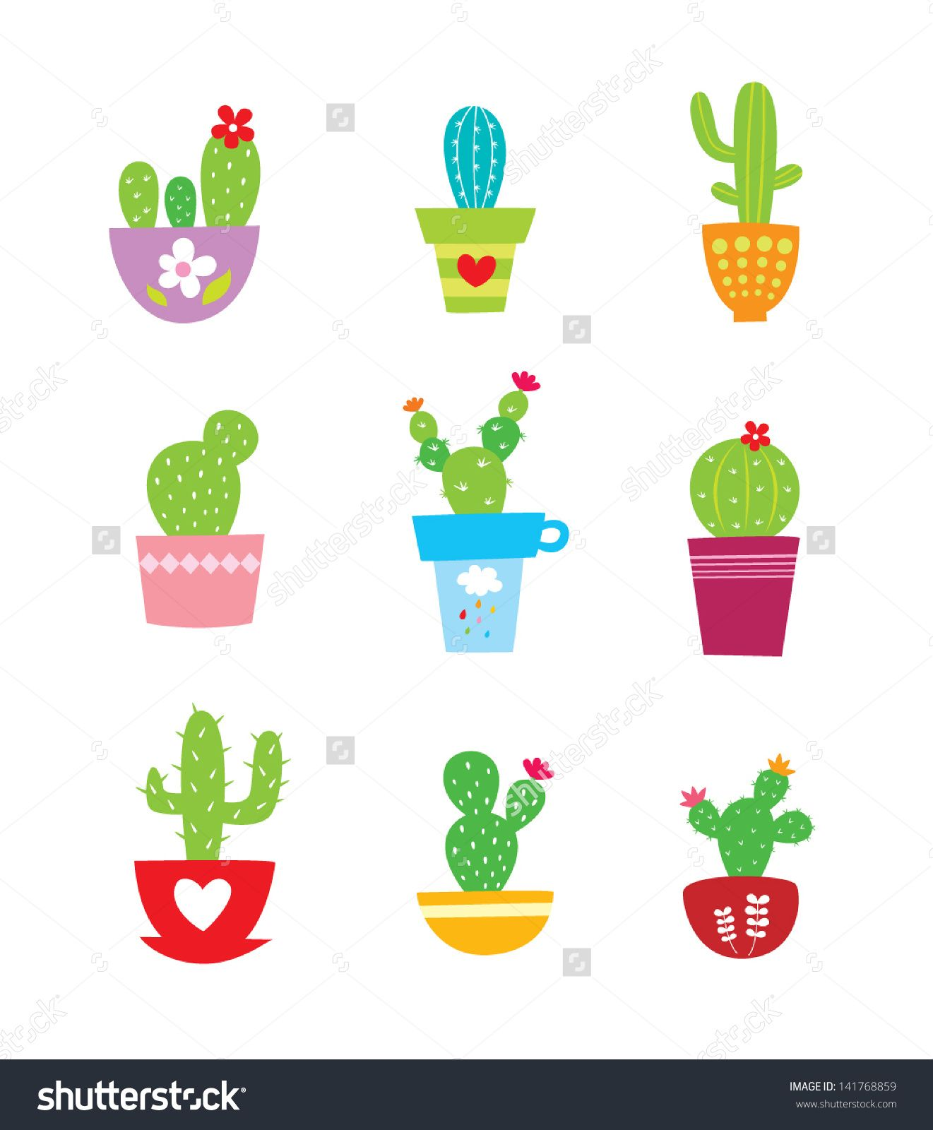 Cactus plant vector buy this stock vector on shutterstock find other images