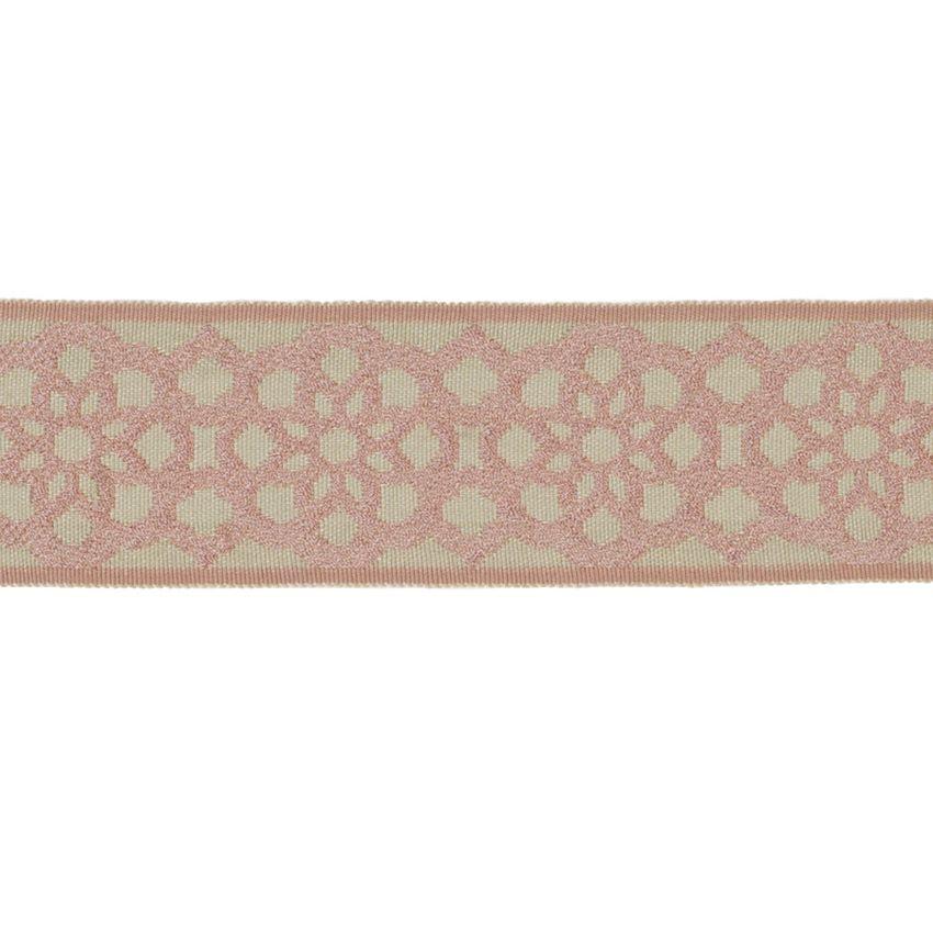 Blush Pink Braids Upholstery Fabric Upholstery Fabric Fabric