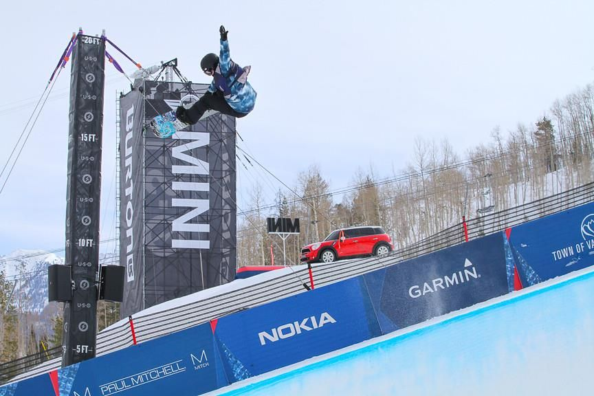 That time when MINI was a sponsor for The 2014 Burton US