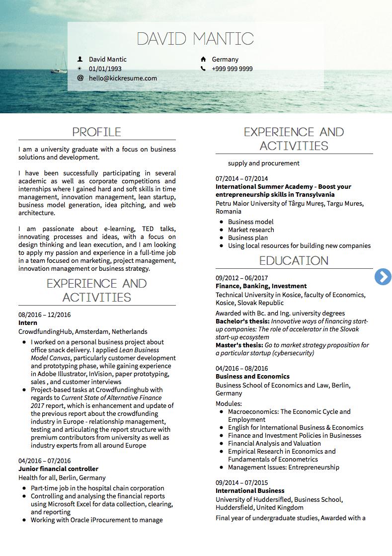12 Business Marketing Resume School Diy Resume Examples Manager Resume Marketing Resume