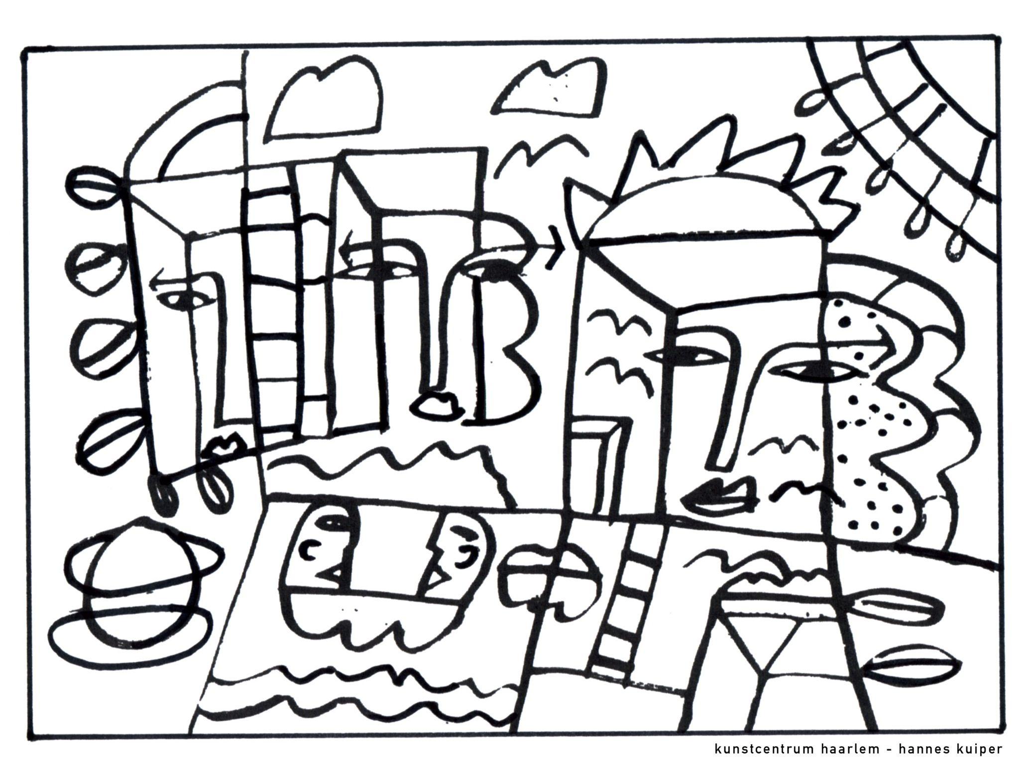 Picasso Atividades De Arte Atividades Ensino Medio Colorir