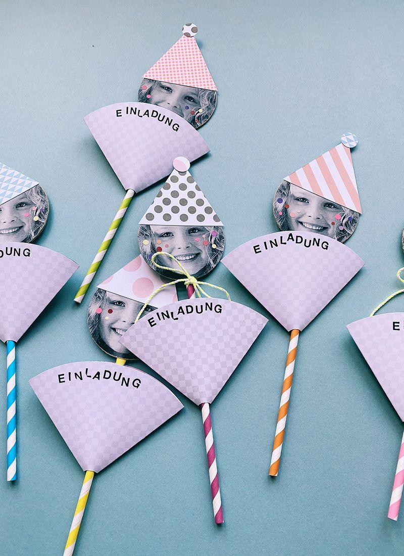 Lustigste Geburtstagseinladungen für Kinder basteln – WLKMNDYS Blog