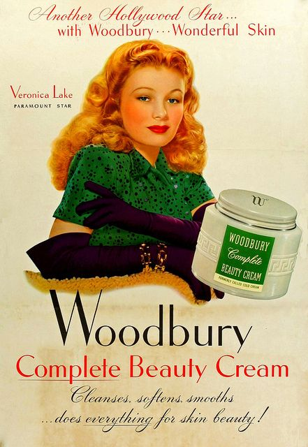 Veronica Lake (Woodbury Complete Beauty Cream)
