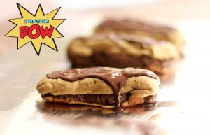 Dark Chocolate PROTEIN Éclairs! with Sweet Potato Pastry ;-) › Protein Pow