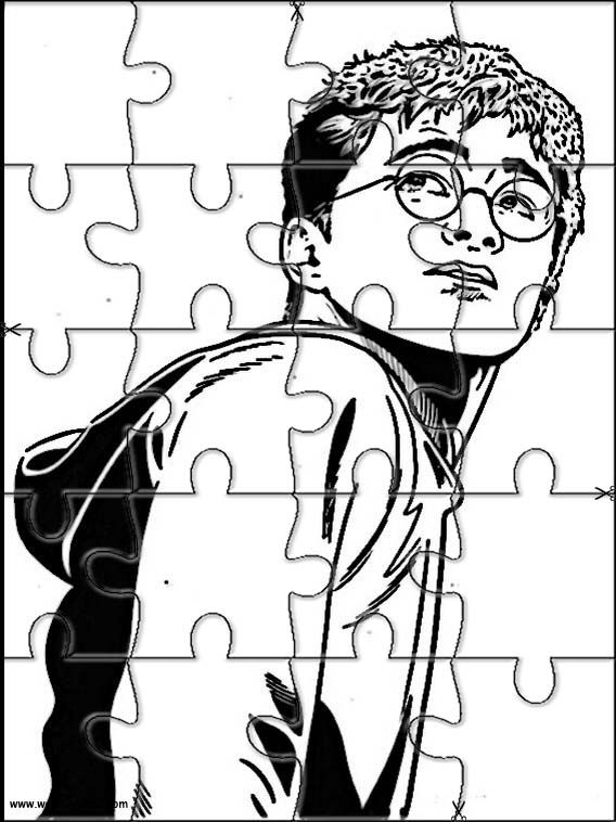 Printable Jigsaw Puzzles To Cut Out For Kids Harry Potter 49 Coloring Pages