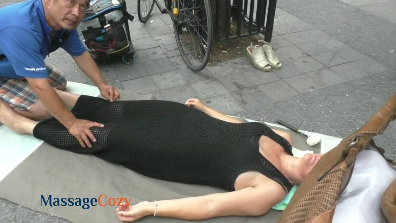 sexy girl body massage