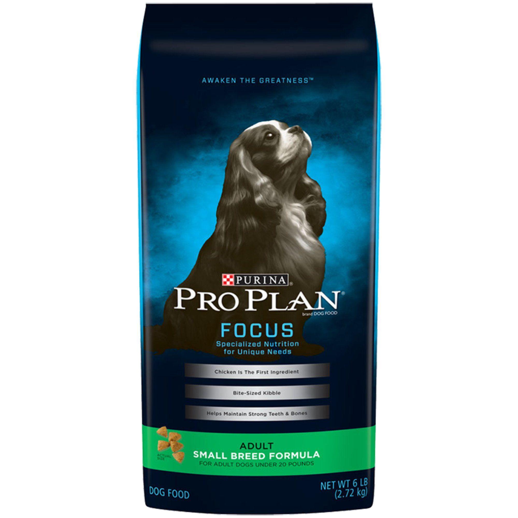 Purina Pro Plan Focus Small Breed Formula Dry Dog Food 6 Lbs
