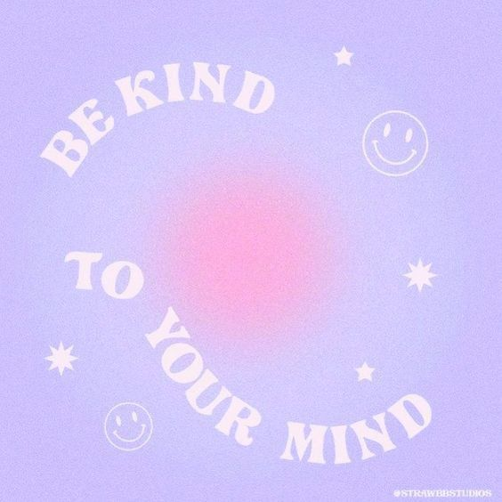 Be kind to yourself and your mind. #styleseat