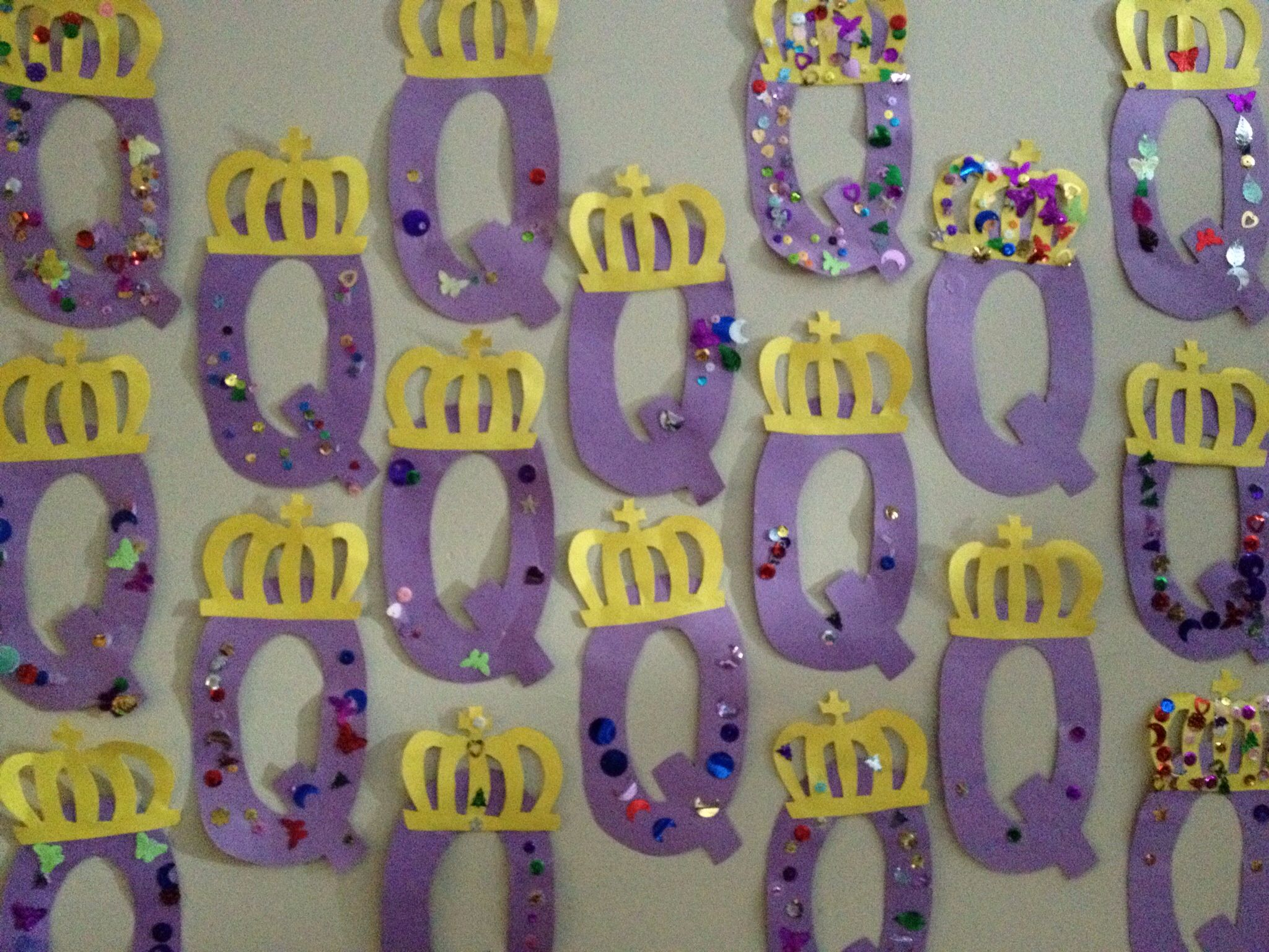 Q Is For Queen Preschool Alphabet Journals