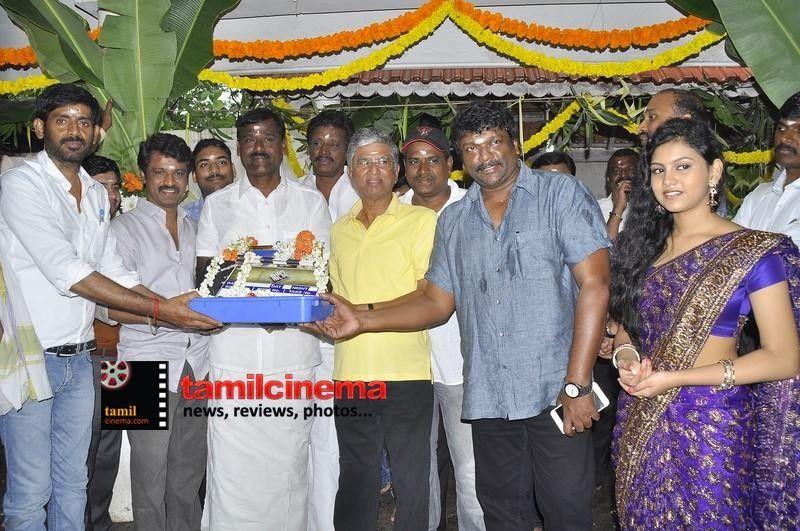#Kamarakattu Movie Launch   More Stills: http://tamilcinema.com/kamarakattu-movie-launch-stills/