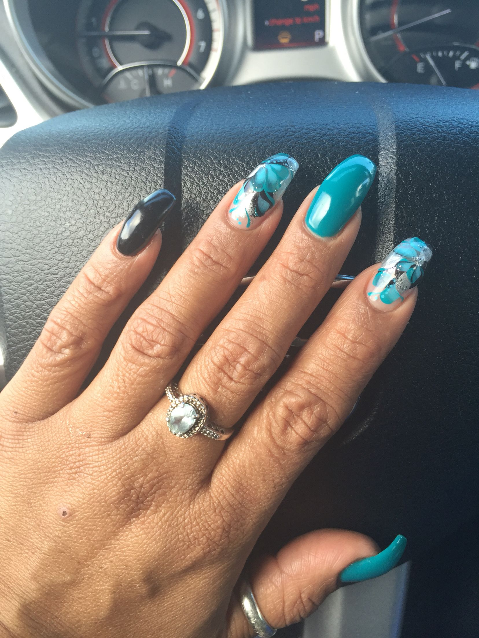 Acrylic Curved Nails | Best Nail Designs 2018