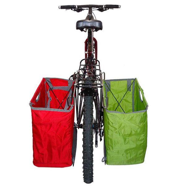 Adjustable Grocery Bag Bike Panniers Bicycle Panniers Pannier