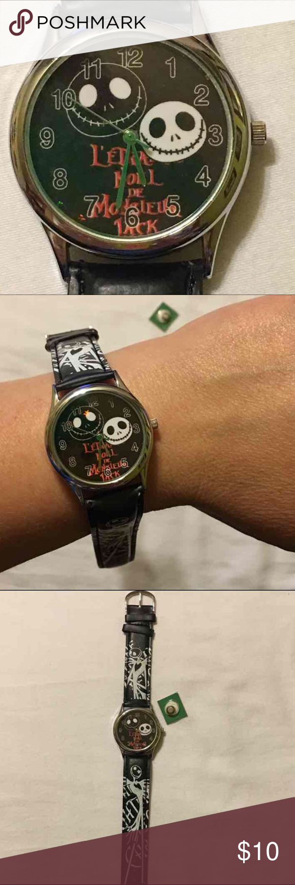 Nightmare Before Christmas Watch Boutique | Accessories, Before ...