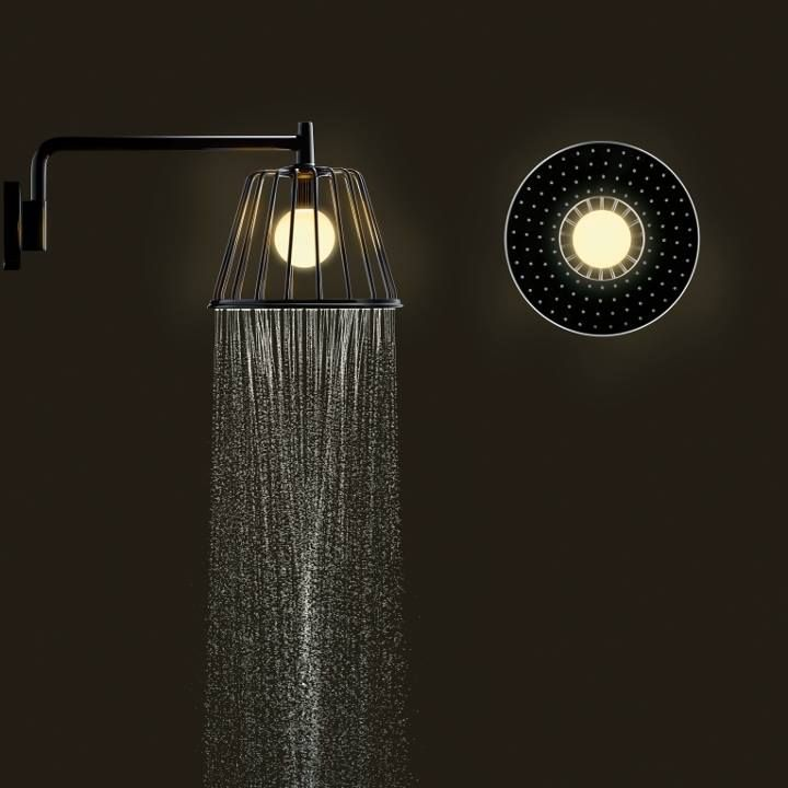 LAMP SHOWER Collection by Hansgrohe #bath #interior #products ...